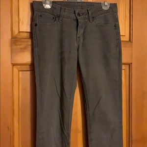 Gray Levi's Skinny Jeans
